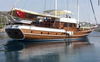 Яхта Гулет